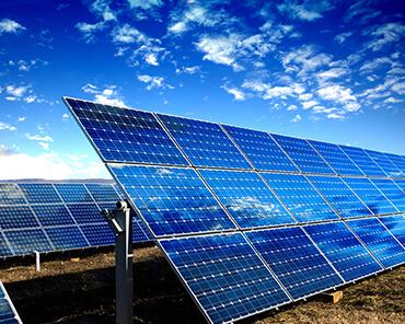 electricidad del panel solar