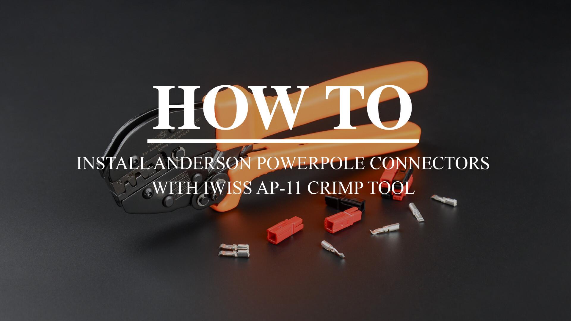 AP-11 ANDERSON POWERPOLE CONTACT CONNECTOR CRIMPING TOOL